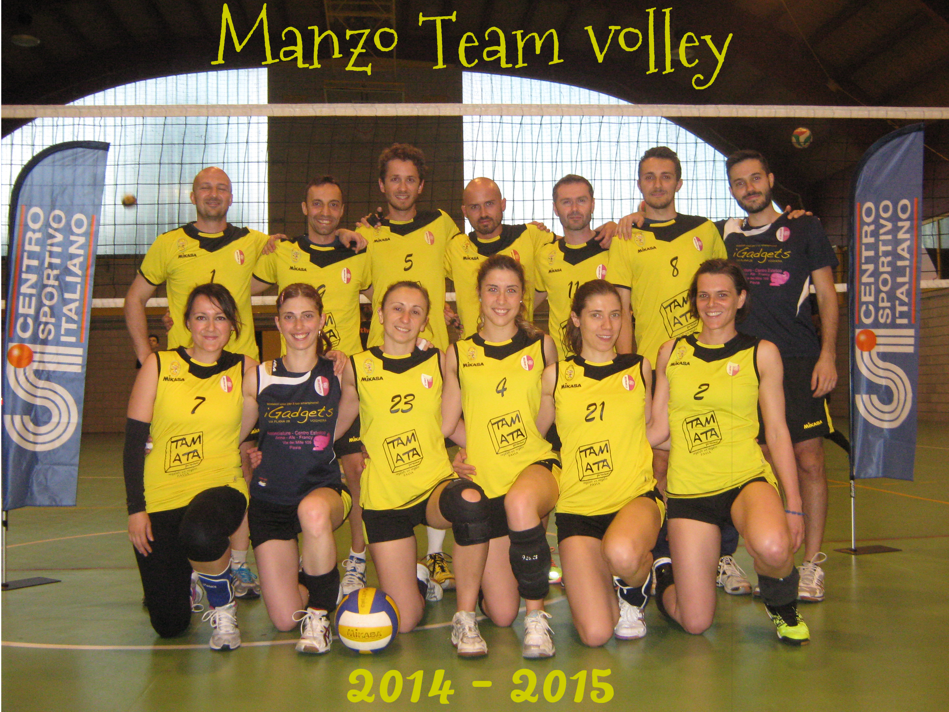 Manzo Team Volley 2015 - 2016